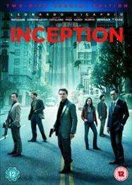 Inception 2 disc DVD only £5 delivered @ Tesco entertainment
