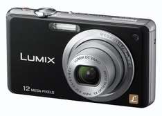 Panasonic Lumix FS10 Digital Camera 12MP (Black) inc Lumix case only £49.99 @ Watt Brothers