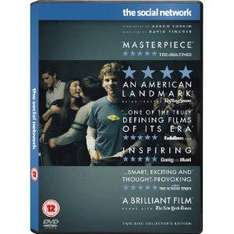 The Social Network (2-Disc Collector's Edition) [DVD] [2011] £7 delivered @Amazon