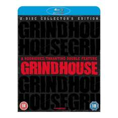 Grindhouse collectors edition Blu-Ray (Death proof and Planet Terror double bill incl. fake trailers) £11.49 @ Amazon/Play/HMV