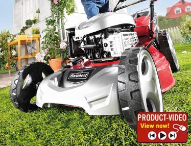 Petrol Lawnmower @ Lidl - £299