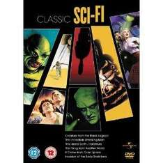 Classic Sci-Fi Collection : Invasion Of The Bodysnatchers / Thing From Another World / Incredible Shrinking Man / This Island Earth / Creature From The Black Lagoon / It Came From Outer Space [DVD] £7.29 @ Amazon and Play
