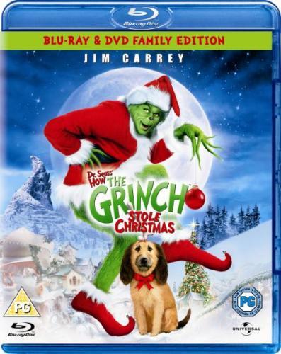 The Grinch Blu-ray £6.95 @ Zavvi