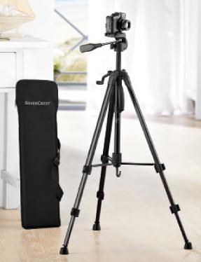 Telescopic Camera Tripod  £16.99 @ LIDL