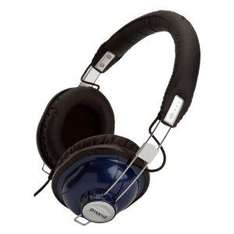 Groov-e GV9900MB Retro Classic Style Headphones - Midnight Blue / Pastel Pink only £10.99 delivered @ Amazon