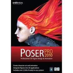Poser Pro 2010 64-bit (PC/Mac) £81.97@ Amazon