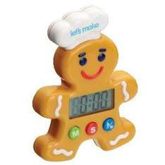 Kitchen Craft Let's Make Gingerbread Man Digital Timer £3.00 delivered @ Amazon