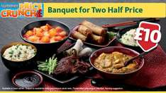 Morrisons chinese banquet meal deal for 2 - £10