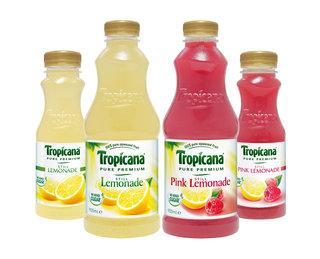 Tropicana Lemonade/Pink Lemonade 900ml £1 @ Morrisons