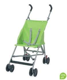 Mothercare M-Bu Stroller £15.29 Online & in-store (or £13.50 for last years model instore only!)