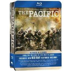 The Pacific: Complete HBO Series BluRay (Tin Box Edition) (6 Discs) £21.25 delivered @ Tesco Entertainment