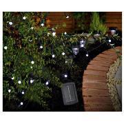 50 Berry White LED SOLAR Line Light, £17.50 @TescoDirect