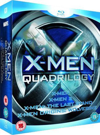 X-Men Quadrilogy Blu-ray only £10.00 instore @ Morrisons Nationwide