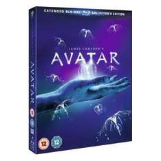 Free blu ray (97 to choose from) with Extended Collector's Edition of Avatar (3 disc) from Play - £17.99 delivered