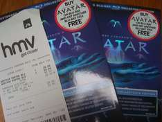 """2 Copies of """"Avatar 3 Disk Extended Edition blu ray"""" £20 @ HMV in store"""