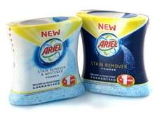 Ariel Stain Remover Powder 500g or gel 1L 27p instore at Tesco with £2 off voucher