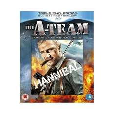 The A-Team Movie: Extended Explosive Edition (Blu-ray, DVD & Digital Copy) - £12.99 Delivered @ Amazon & Play