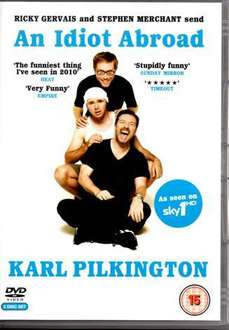 Karl Pilkington's An Idiot Abroad [DVD] - £5  In-store @ Morrisons