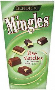 Bendicks Mingles Five Varieties of Chocolate (300g) £2.03 at Tesco