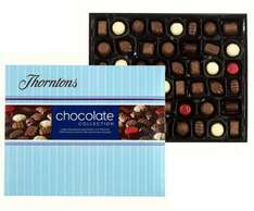Thortons chocolates buy one get one free plus 10 % off on top.