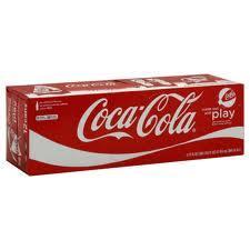 24 Cans of Coca Cola £4. Morrisons Garage
