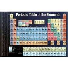 Periodic Table of Elements (Educational) Chart Poster Print - 61x91 cm -  just £1.66 delivered at Amazon