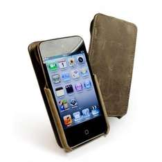 Tuff-Grip Saddleback genuine leather  case cover  for Apple iPod Touch 4 Tuff-Luv.Com £11.55