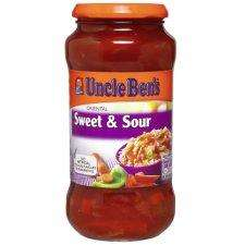Uncle Bens Sweet & Sour Sauce 500g,  3 for £3.00 @ Tesco and online usually £1.58 for 1. pay day deals.