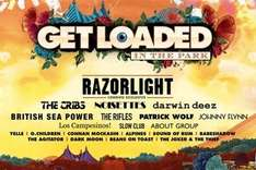 2 tix to see Razorlight at Get loaded in the park this Sunday for £46.50, incl 4 drinks @ Groupon