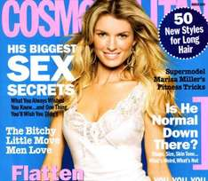 One-Year Subscription to Cosmopolitan (£12) or Men's Health (£20) with Delivery - Living Social