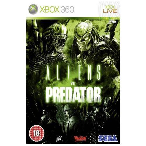 ALIENS VS PREDATOR XBOX 360 - PLAY.COM £7.99