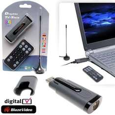 DVB-T USB Freeview Receiver & Recorder - Best Product of the Year £8.46 with Code & £1.99 P&P @dealtastic