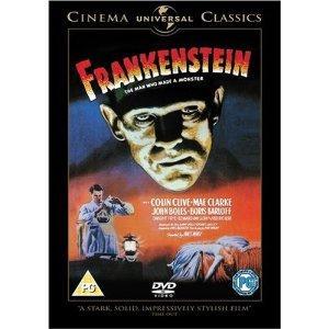 FRANKENSTEIN: (1931) DVD  Now £2  INSTORE @ Sainsburys