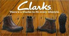 Big sale, effective 20th June @ Clarks. Many many styles included