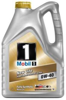 Mobil 1 New Life 0W/40 Oil 5L, £39.99 in store or online @ Halfords