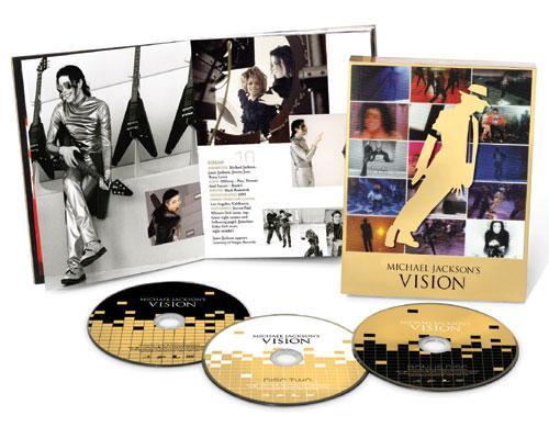Michael Jackson - Vision DVD Boxset £9.99 @HMV