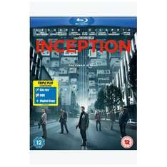 Inception: Triple Play Edition  (Blu-ray, DVD and Digital Copy) - £11.04 Delivered @ Tesco Entertainment