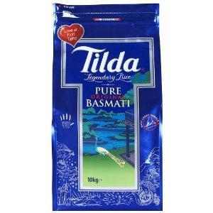 Tilda Pure Basmati 10 kg  delivered for £18.99 @ Amazon
