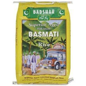 Badshah Basmati Rice (10 kg) @ Amazon - £10.97