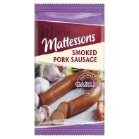 All Varietes including Mattessons Garlic pork sausage - smoked (227g) @ Asda now only £1.00