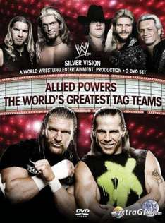 WWE: Allied Powers: The World's Greatest Tag Teams DVD (3 Discs) £6.99 from 10AM Wednesday @ Silvervision