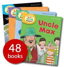 48 Biff Chip and Kipper Read at home books @The Book people save £200!