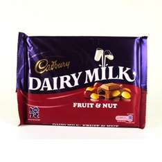 400g Of Dairy Milk /Fruit And Nut And Whole Nut Chocolate - £2 @ Morrisons