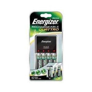 Energizer Quattro UK Charger includes 4 AA 1300mAh Rechargable Batteries £7.80 deliverd by 7dayshop @ Amazon