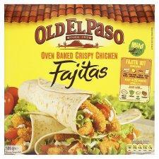 Old El Paso crispy chicken fajita kit-49p Tesco Express