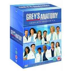 Grey's Anatomy Series 1 - 5 on DVD for only £39.97 @ Amazon (plus some others)