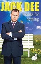 """Jack Dee book """"Thanks For Nothing"""",hardback.£1 @ Poundland."""