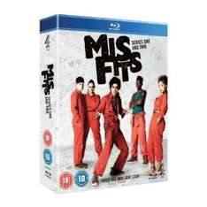 Misfits - Complete Series 1 and 2 (Blu-ray Boxset) only £12.93 delivered @ Asda Ent