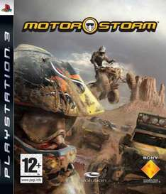 Motorstorm Used PS3 £3 @ Cex free delivery