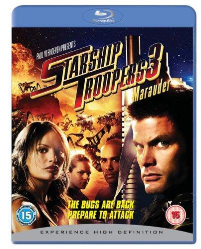 Starship Troopers 3: Marauder [Blu-ray] [2008][Region Free] £3.50 del @amazon (Via mrtopseller)